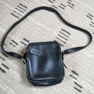 Vintage Coach Leather Legacy Shoulder Bag Black